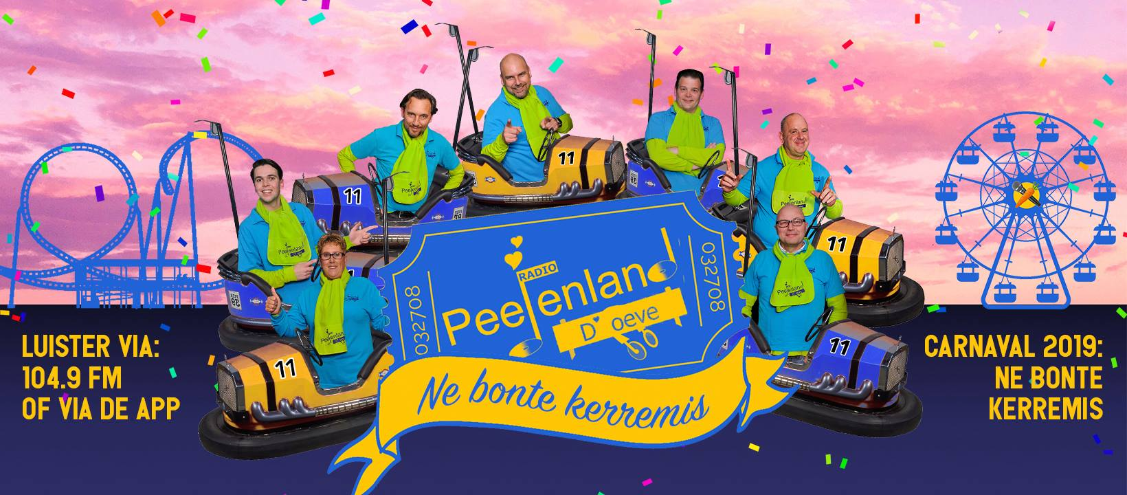 Radio Peejenland | Dé carnavalszender van D'oeve